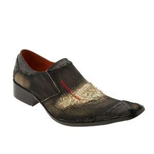 Robert Wayne Implode Distressed Slip On Shoes Sz 8